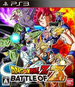 USED-PS3-PlayStation-3-Dragonball-Z-Battle-of-Z-42655-JAPAN-IMPORT