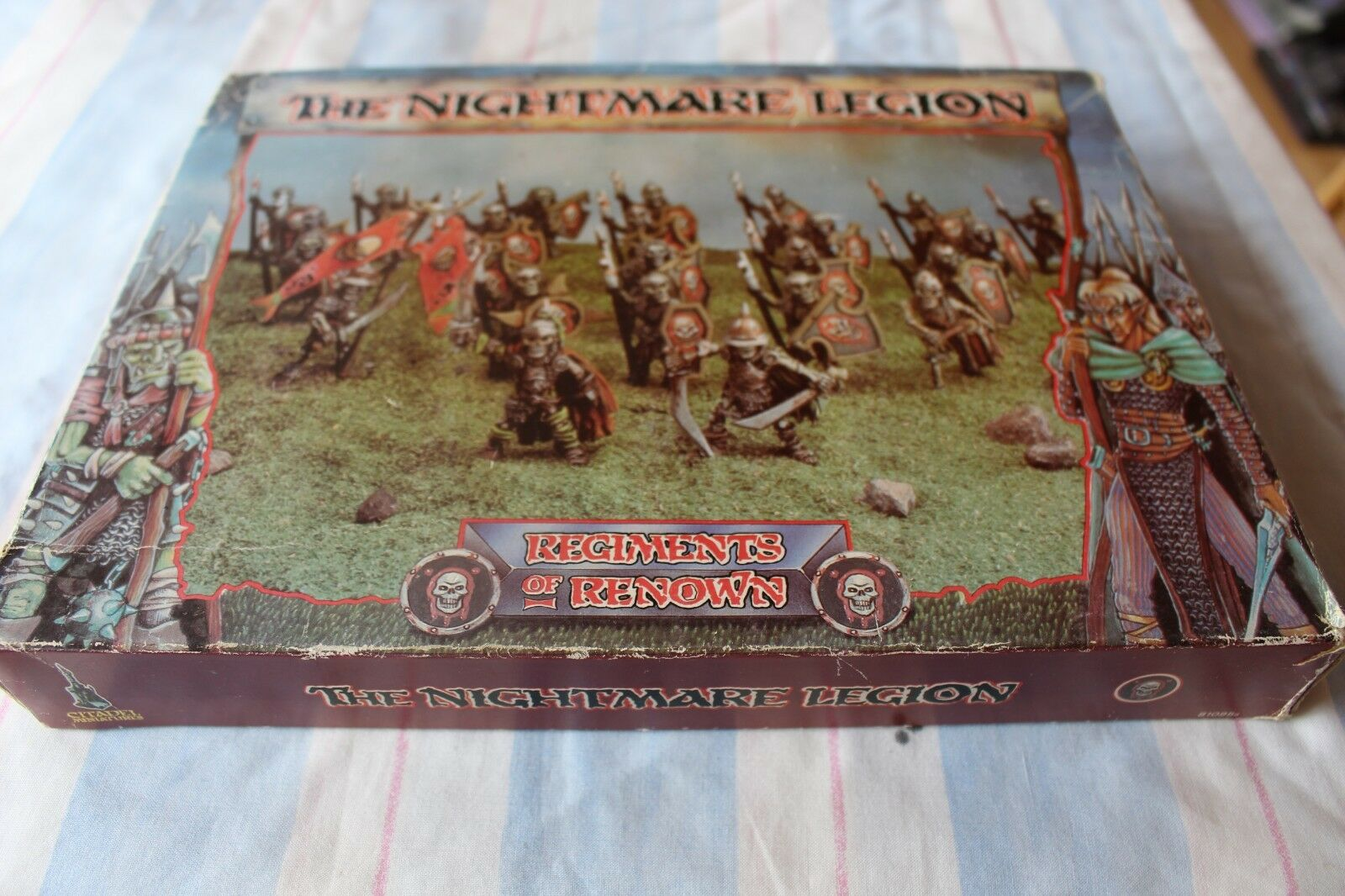 Games Workshop Citadel RR2 Nightmare Legions Regiments