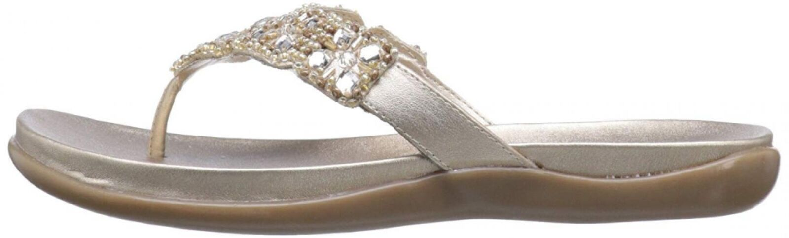 Kenneth Cole REACTION Donna  Glam-Athon Flat Flat Flat Sandal d3acda