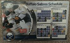 2012-13 Buffalo Sabres magnetic schedule Tyler Myers In-game Gift