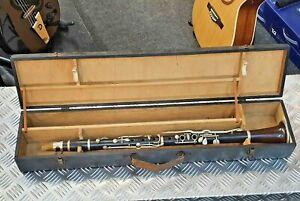 Antique 1800s E Albert (Brussels) Clarinet + case