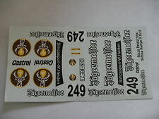 ancien decals decalcomanie  sur simca 1000 rallye 2 jagermeister 1/24