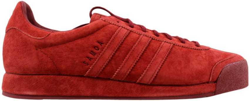 Il mistero di pelle scamosciata adidas samoa vintage rossa b39016 uomini sz 11,5 | Exit  | Uomini/Donna Scarpa