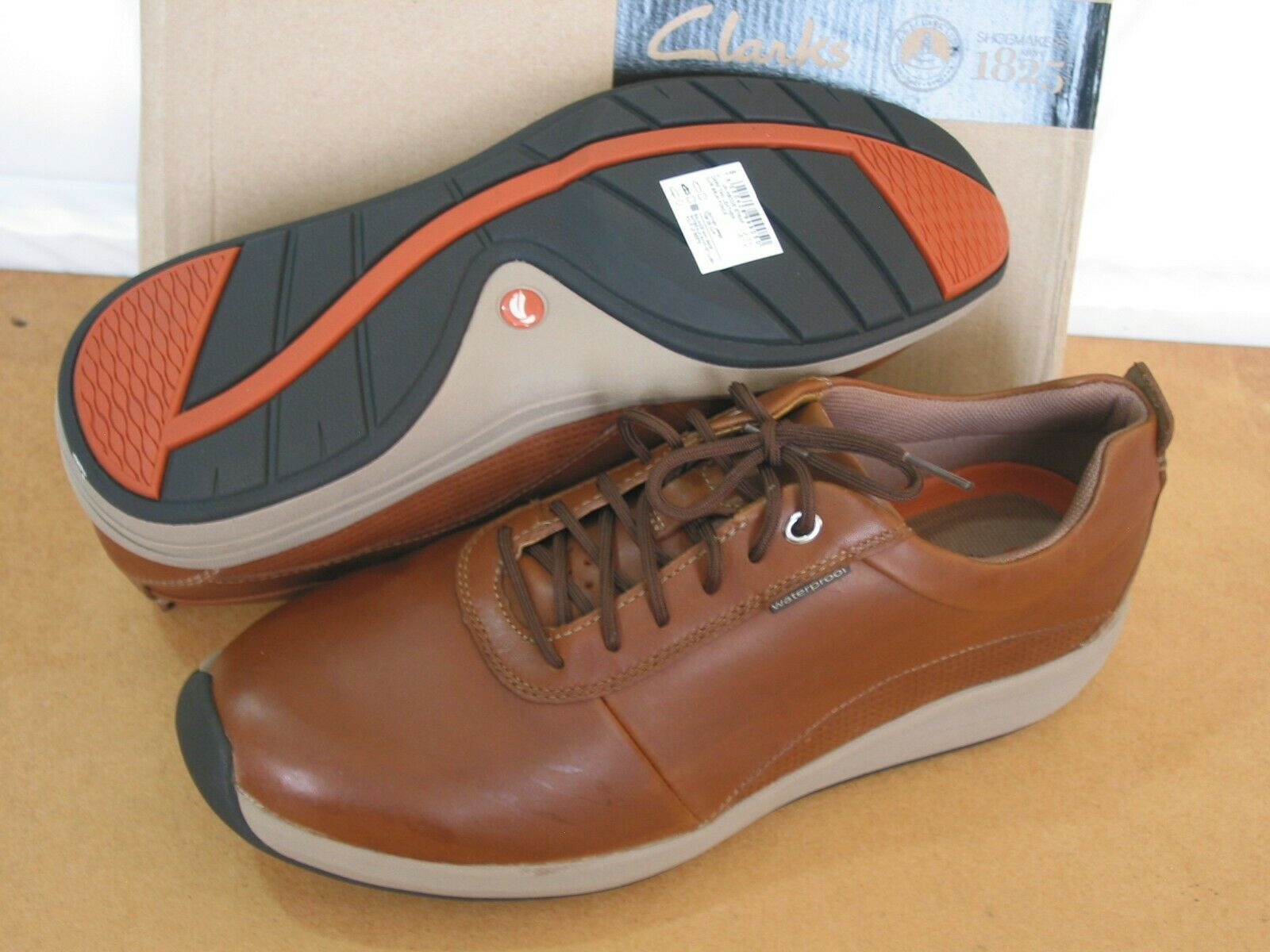 authentisch TAN UN STRUCTUrot UN CLARKS NEW EXTRA WIDE FIT
