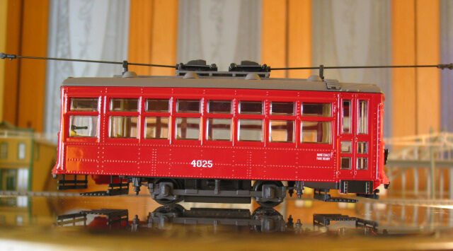 CORGI 55204 O SCALE BIRNEY STREETCAR - BALTIMORE CAR   4025