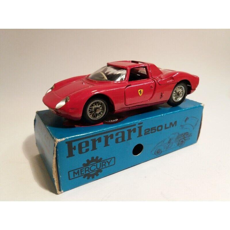 Merkurius n.39   Ferrari 250 the Mans (år 1964) Original Box Scale 1 43 MC44050