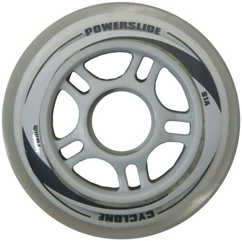 8x Powerslide Cyclone 84mm 81A Fitness Race Rollen