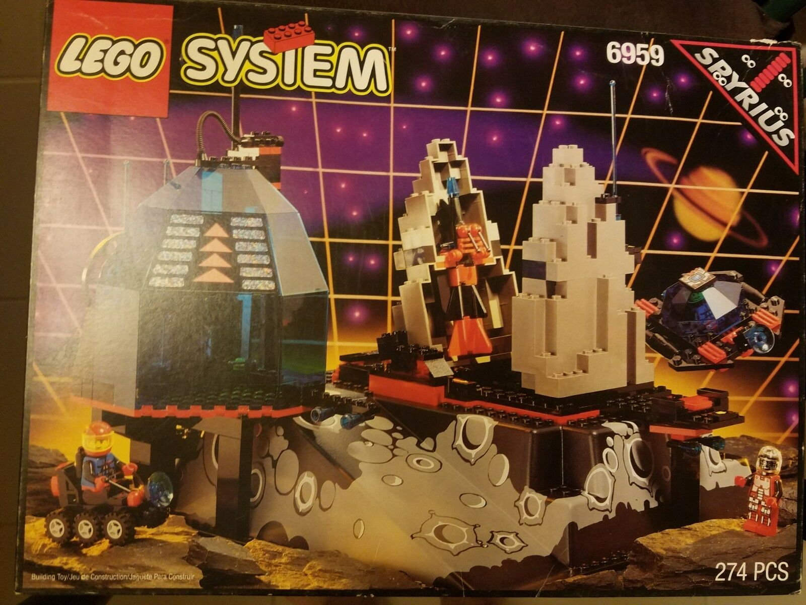 Lego 6959 Spyrius Lunar Launch Site New