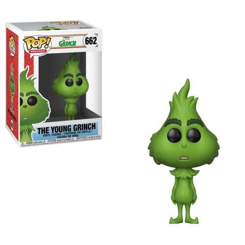 NUOVO Ufficiale FUNKO POP il Grinch giovane Grinch #662 Figura in vinile
