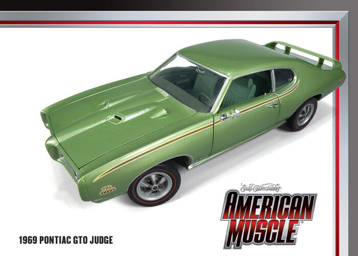 1969 Pontiac GTO Judge Limelight Grün 1 18 Car World 960