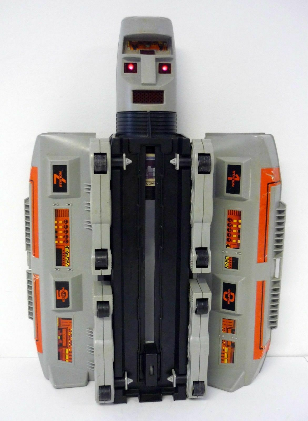 GO BOTS COMMAND CENTER FORTRESS Bandai Tonka Robot Playset Playset Playset NEAR COMPLETE 1984 269c3d