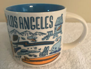 STARBUCKS MUG LOS ANGELES - BEEN THERE SERIES ACROSS THE GLOBE COLLECTION