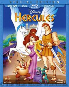 Details About Disney Animated Greek Mythology Comedy Hercules Blu Ray Dvd Digital Copy Code