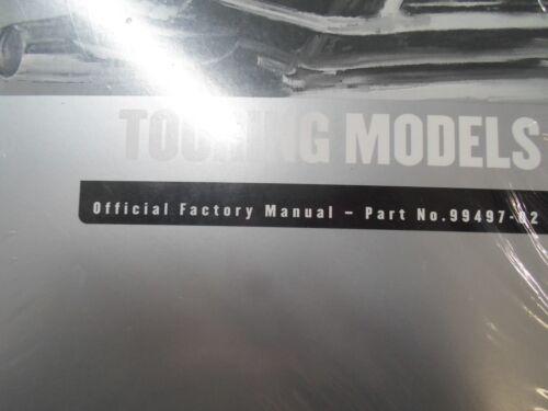 2002 Harley Davidson TOURING MODELS Service Shop Repair Manual Set W Electrical