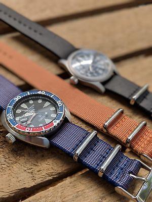 GüNstiger Verkauf Premium Thick Weave Pattern One Piece Nato Watch Strap Tri - Pack Um Der Bequemlichkeit Des Volkes Zu Entsprechen