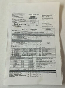 GOOD-BEHAVIOR-set-used-tv-show-CALL-SHEET-14-pages-of-sides-Season-2-Episode-4