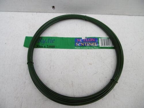 NETLON SENTINEL RY-TIE PVC COATED GARDEN WIRE 30M X 1MM | eBay
