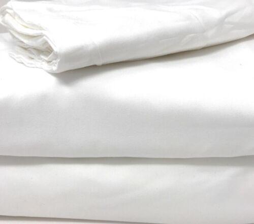 2-3 Piece Super Soft Solid Cloud White Duvet Cover Set With Zipper Closure