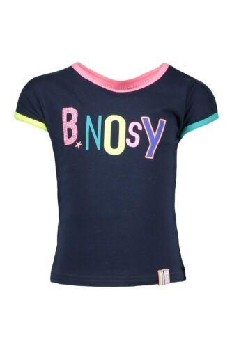 ♥ B.NOSY Teens ♥ Mädchen T-Shirt midnight blue Gr.98-164 ♥ Y-902-5456-170