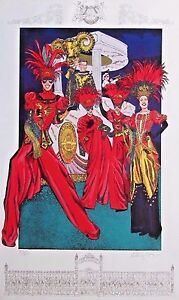 1998 Krewe of Orpheus New Orleans Mardi Gras Poster (Signed & Numbered)