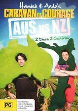HAMISH & ANDY : CARAVAN OF COURAGE - AUS VS NZ - DVD - REGION 4 - SEALED