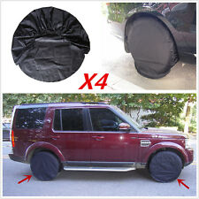 """4 Pcs Wheel Tire Covers For RV Trailer Camper Car Offroad Truck to 31"""" Diameter"""