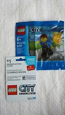 Lego City Police Officer Chase McCain minifigure Wii U Undercover polybag set