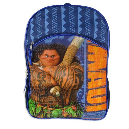 "NEW~Disney Moana Maui16/""Full Size School Laptop Backpack,Bag~FAST SHIPPING"