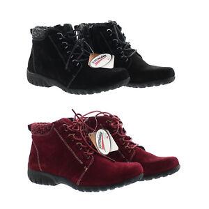 7038b4992e471 Details about Propet Women's Delaney Leather Rubber Sole Ankle Bootie Shoes  WFV002