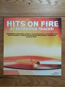 Various-Hits-On-Fire-20-Scorching-Tracks-RTL-2095-Vinyl-LP-Compilation