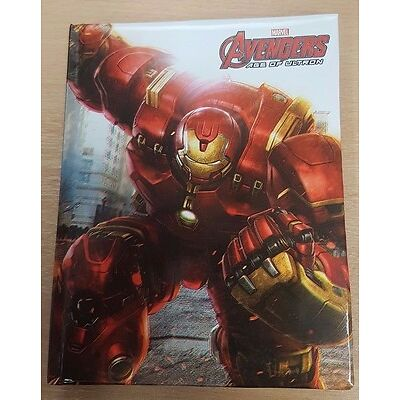 Marvel Avengers age of Ultron A6 Notebook Pad Writing Book Iron Man Hulk Lined