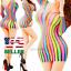 Women-Lingerie-Hot-Bodystocking-Stocking-Sleepwear-Fishnet-Body-Chemise-Babydoll thumbnail 1