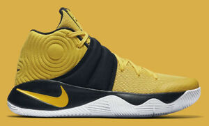 on sale 638be e48a6 Details about Nike Kyrie 2 Australia Yellow Black Pittsburgh Pirates  Steelers 819583 701 sz 12