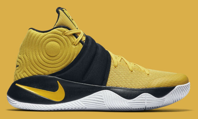 online retailer cb49c 7c382 Nike Kyrie 2 Australia Yellow Black Pittsburgh Pirates Steelers 819583 701  sz 12
