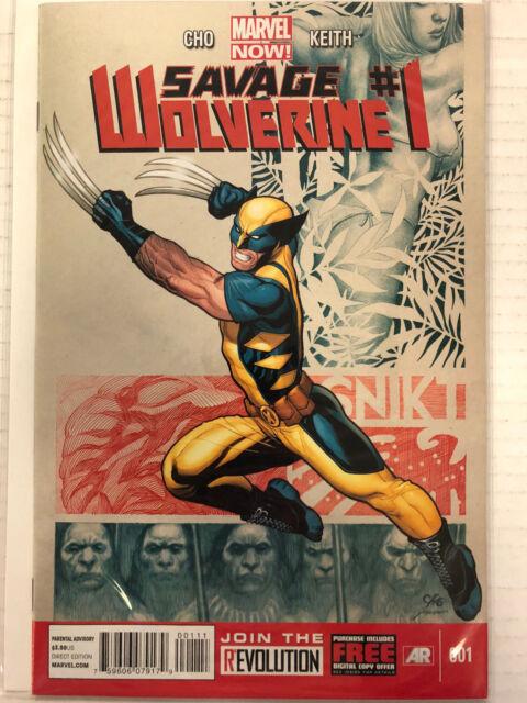 Savage Wolverine #1 Comic Book Marvel NOW 2013
