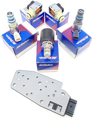 4L60E Trans Master Solenoid Kit GM EPC Shift 1996-2002 6pc Set OEM NEW 99092