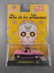 M2 Machines 1973 Chevrolet Custom Deluxe 10 Dia de los Muertos MiJO
