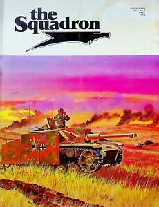 "Vintage ""The Squadron"" Magazine Vol 2 No 4 1972 Hobby Model War Recreation"