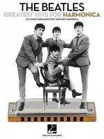 The Beatles Greatest Hits For Harmonica Harmonica Book 000850106