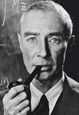 1958 Vintage 16x20 J ROBERT OPPENHEIMER Physicist Atomic Bomb ~ PHILIPPE HALSMAN
