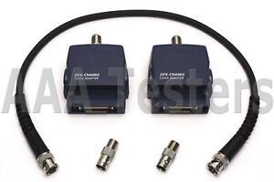 Fluke-Networks-DTX-CHA003-Coax-Test-Adapter-Set-For-DTX-1800-DTX-1200