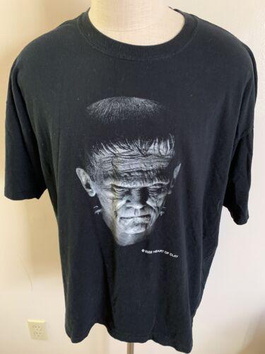 VTG 2002 Horror Monster Shirt Frankenstein 2XL Mov