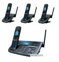 Uniden Xdect R R055+3 2 Line Digital Cordless Phone+4 Handsets Total+bnib