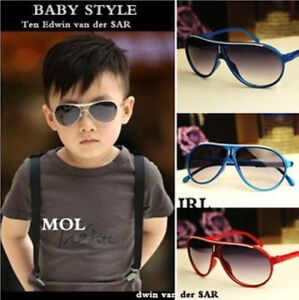 Hot-1PCS-6Color-Children-Boy-Girl-Cute-Sunglass-Shades-aviator-glasses-Cool