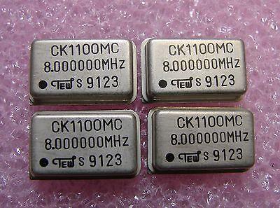 TEW Oscillator 8MHz CK1100MC-8.000000MHz DIP-14 Qty.4