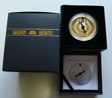 2012 Niger Gold Plated 100 Francs 50mm 50G Compass/Quibla Mecca Kaaba boxed