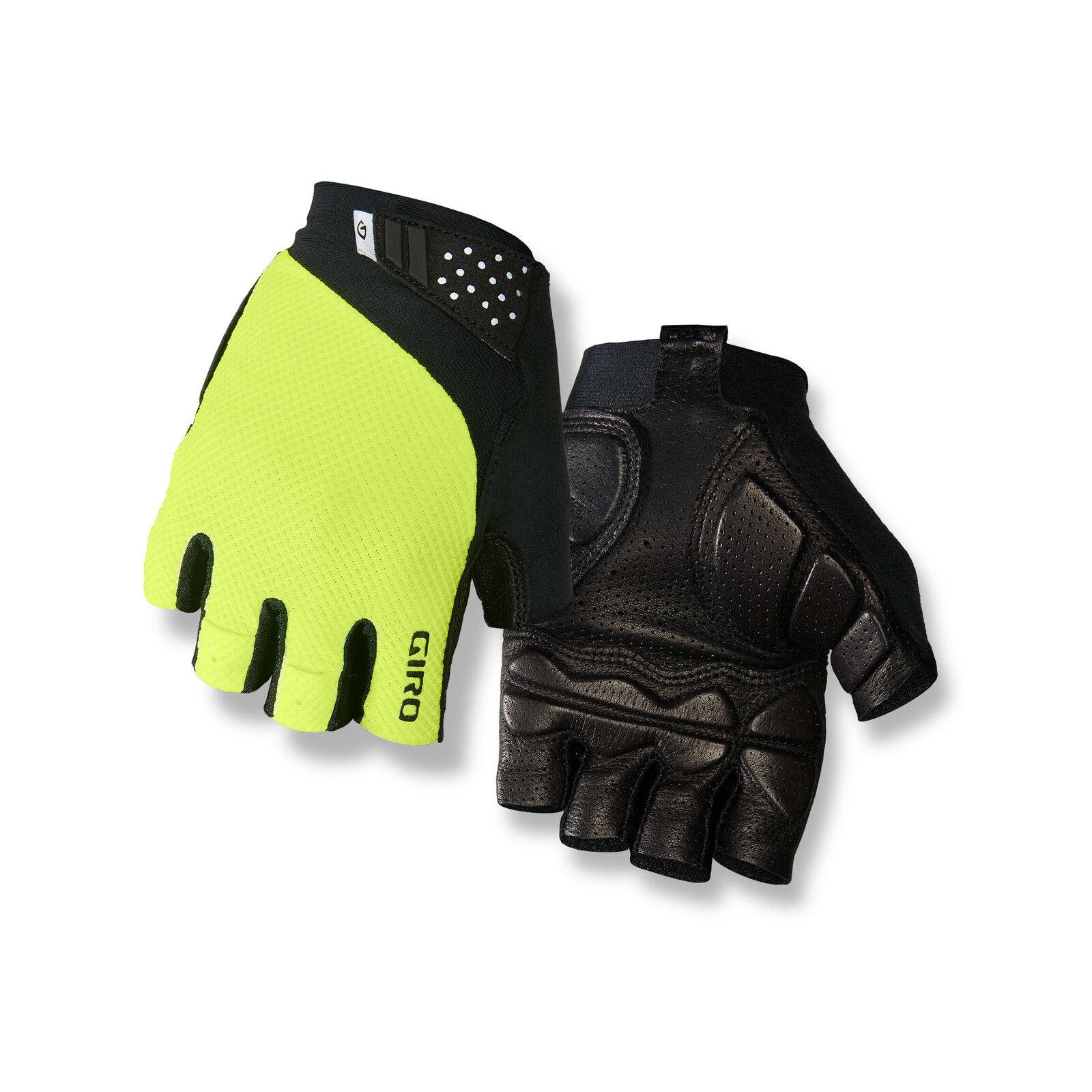 Giro Monaco II Gel Fahrrad Handschuhe kurz gelb/schwarz 2019