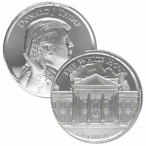 GEM BU Donald J Trump 45th President Collectable 1 Oz Silver