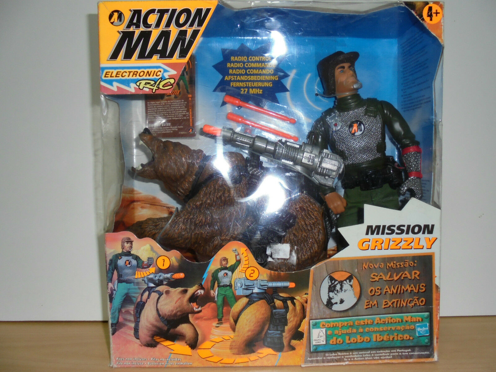 ACTION MAN MISSION CRIZZLY Hasbro 1999  EUROPEAN VERSION  New in BOX MIB