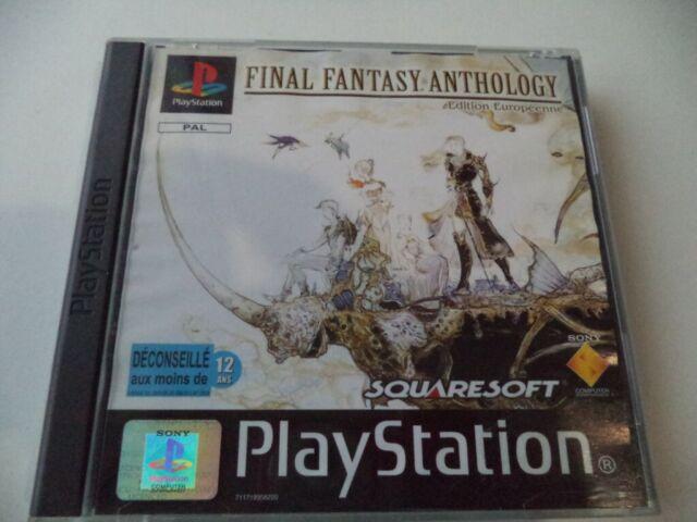 JEU PLAYSTATION 1 PS2 Final Fantasy Anthology PSX PAL FR FF V+FFVI FF5 +FF6